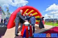 Завод по выпуску комбикорма открылся в Витебском районе
