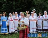 Па старажытных канонах адзначылі Купалле на Полаччыне