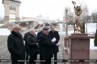 Аллею лауреатов специальной награды Президента в Витебске преобразуют в Площадь звезд