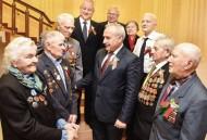 Председатель облисполкома встретился с ветеранами Великой Отечественной войны