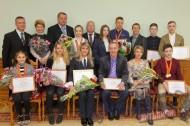 В Витебском облисполкоме чествовали триумфаторов континентального чемпионата и первенства по прыжкам на батуте
