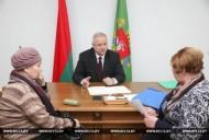 АлександрПозняк провел прием граждан по личным вопросам