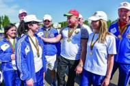 В Новополоцке состоялся III спортивно-туристский слет органов государственного управления Витебской области