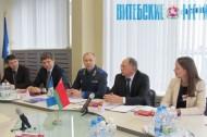 Зал судебных заседаний и кабинет криминалистики. На базе ПГУ создан первый в Беларуси учебно - научно - практический центр для подготовки юристов