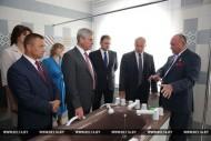 """Аздараўленчы комплекс """"Пліса"""" адкрыўся ў Глыбоцкім раёне"""