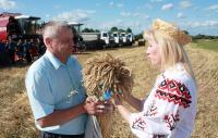 Традиционные районные «Зажинки» отмечали в Полоцком районе