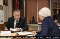 Министр внутренних дел провел прием граждан в Лиозно