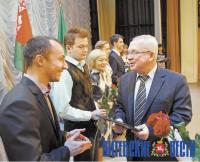 Победителей республиканских и международных олимпиад чествовали в Витебске
