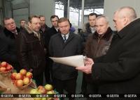 Премьер-министр Беларуси Андрей Кобяков посетил с рабочей поездкой в Витебскую область