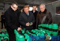 Премьер-министр Беларуси Андрей Кобяков посетил градообразующие предприятия Толочинского района