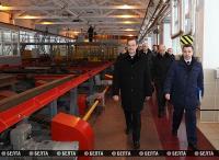 Калинин ознакомился с модернизацией станции Орша
