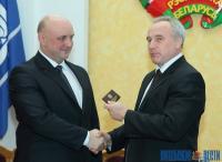 Председатель облисполкома Николай Шерстнёв представил нового главу исполнительной власти Новополоцка