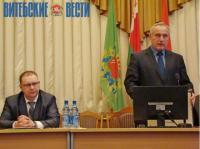 Губернатор Витебской области Николай Шерстнёв представил нового главу Толочинского района
