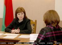 Кочанова провела в Полоцке прием граждан по личным вопросам
