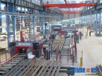 Под Полоцком создали завод металлоконструкций, аналогов которому в Беларуси нет