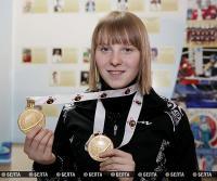 Чемпионку мира Дарью Блашко чествовали в Витебске