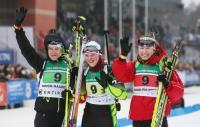 Вторую золотую медаль на чемпионате мира-2015 по биатлону среди юношей и юниоров в составе эстафетной команды завоевала представительница Витебщины Дарья Блашко