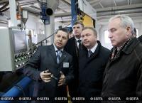 """Кобяков посетил ПО """"Энергокомплект"""" в Витебске"""