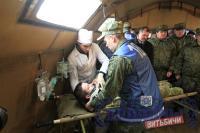 В учениях войск территориальной обороны приняли участие чиновники и руководители силовых структур Витебской области