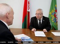 В Витебском облисполкоме провели личный прием граждан