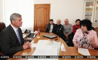 Андрейченко провел в прием граждан в Докшицах