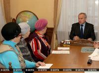 Председатель Витебского облисполкома провел прием граждан