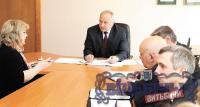 Председатель облисполкома Николай Шерстнёв провел встречу и прием по личным вопросам в ОАО «КИМ»