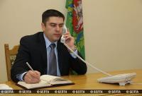 Управляющий делами Витебского облисполкома провел прямую линию