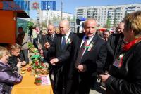 Николай Шерстнёв посетил традиционную ярмарку учебных заведений Витебской области «Вясновы карагод»