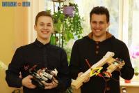Витебские студенты создали уникального робота для обмена сообщениями