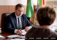 Председатель Витебского райисполкома провел прием граждан по личным вопросам