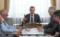 Матюшевский провел прием граждан по личным вопросам в Витебском облисполкоме
