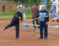 В Витебске открыли площадку для игры в городки