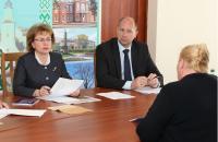 Марианна Щёткина встретилась с коллективом Оршанского молочного комбината