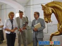Знаменитые и мифические лошади – в Художественном музее Витебска. Скульптор Сергей Бондаренко представил свои работы