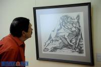 Подлинные работы Осипа Цадкина впервые представили на персональной выставке в Витебске
