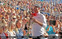 Шоу Александра Олешко открыло череду фестивальных концертов в Витебске