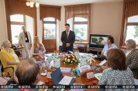 """Представители семи стран обсудили будущее фестивального движения на """"Славянском базаре в Витебске"""""""