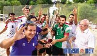 В Витебске завершился международный турнир по пляжному футболу