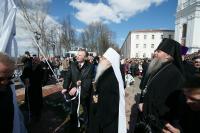 В Витебске открыт памятник Патриарху Алексию ІІ