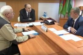 Виталий Вовк провёл приём граждан в Шарковщине (19.11.2018)