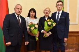 Тры педагогі з Віцебшчыны названы «Настаўнікамі года Рэспублікі Беларусь» (25.10.2017)