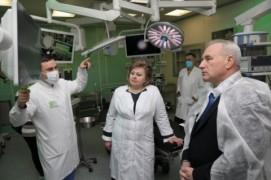 В Витебске открыли обновлённый корпус онкодиспансера (26.02.2021)