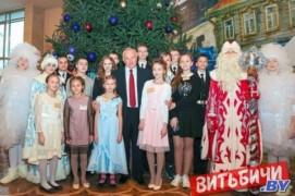 Главная ёлка области собрала в Витебске около тысячи детей (27.12.2019)