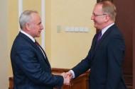 Николай Шерстнёв встретился с Послом Чехии Томашем Перницким (21.03.2019)