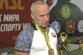 Николай Шерстнёв стал участником чемпионата по гиревому спорту в Гродно (17.11.2019)
