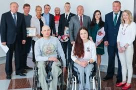 Мікалай Шарснёў сустрэўся з алімпійцамі (10.05.2018)