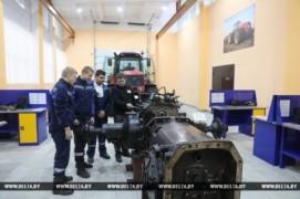 Новинки сельхозтехники — в учебных мастерских (21.11.2018)