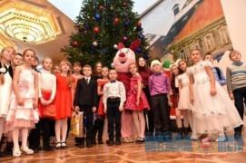 Губернаторская ёлка прошла в Витебске (28.12.2018)