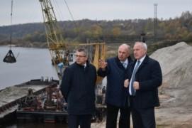 Глава области Николай Шерстнёв ознакомился с возможностями предприятия «Витебскводтранс»(29.10.2020)